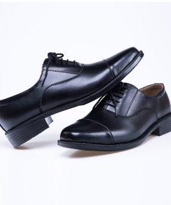 Giày tây Oxford sĩ quan