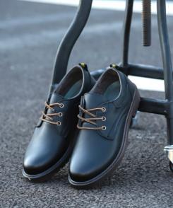 Giày Nam Casual Đen L v.2 - Giày Da Nam Phong Cách Hàn Quốc, Giày Nam Tươi Trẻ Khỏe Khoắn