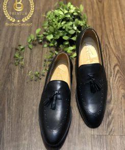 giày da Việt Nam, da thật, giá tốt, giày lười, giày mọi