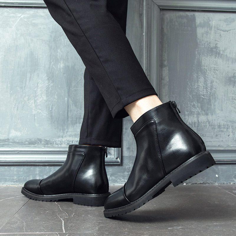 Giày tây nam Atami Boot - giày bốt cổ cao nam